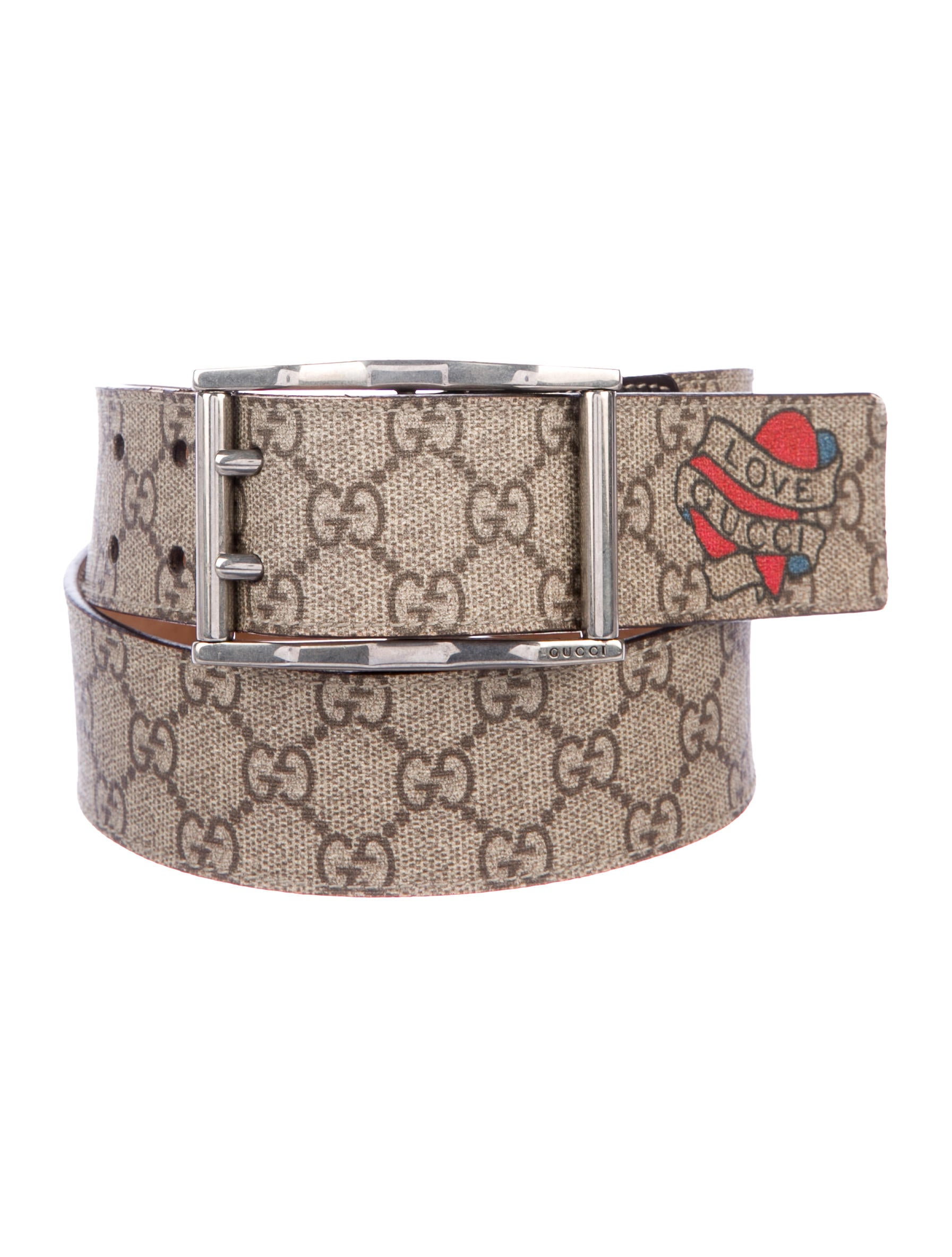 47309b3c5 Gucci GG Love Gucci Belt - Accessories - GUC295084 | The RealReal