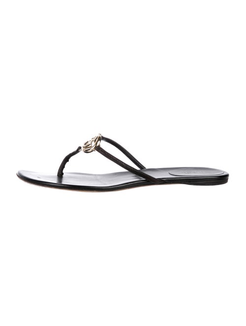 742edecc73a5a Gucci GG Thong Sandals - Shoes - GUC295243