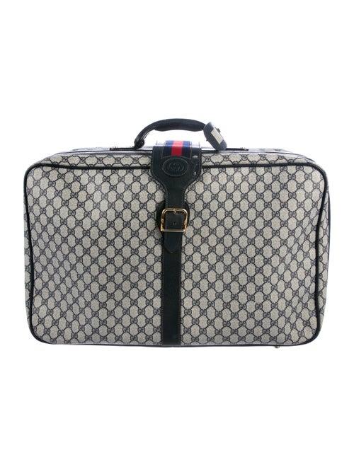 917241e393612 Gucci Vintage GG Plus Web Suitcase - Handbags - GUC295293