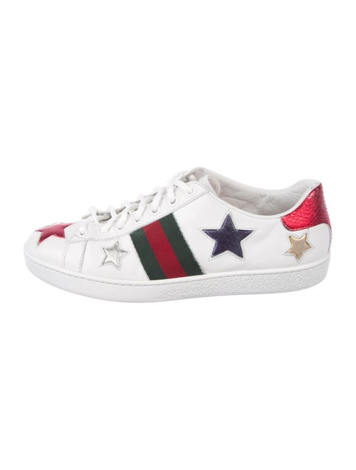 5138a5357 Gucci 2017 New Ace Star Sneakers - Shoes - GUC295323 | The RealReal