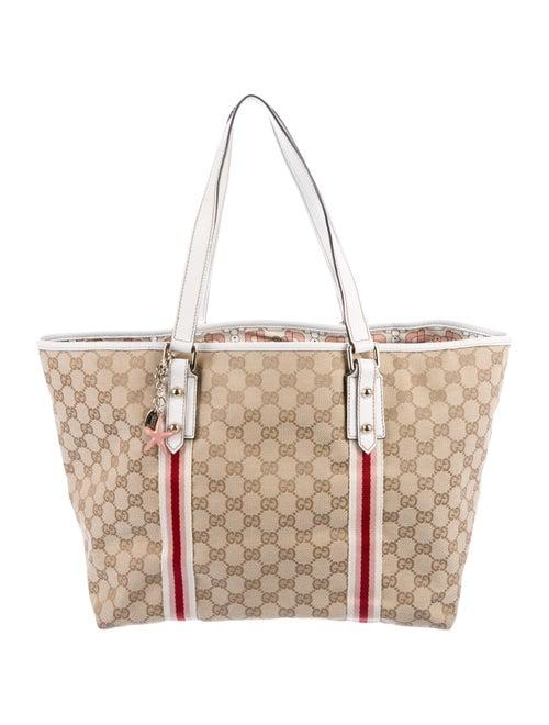 a2fa909fcd0f Gucci GG Canvas Large Jolicoeur Tote - Handbags - GUC295338   The ...