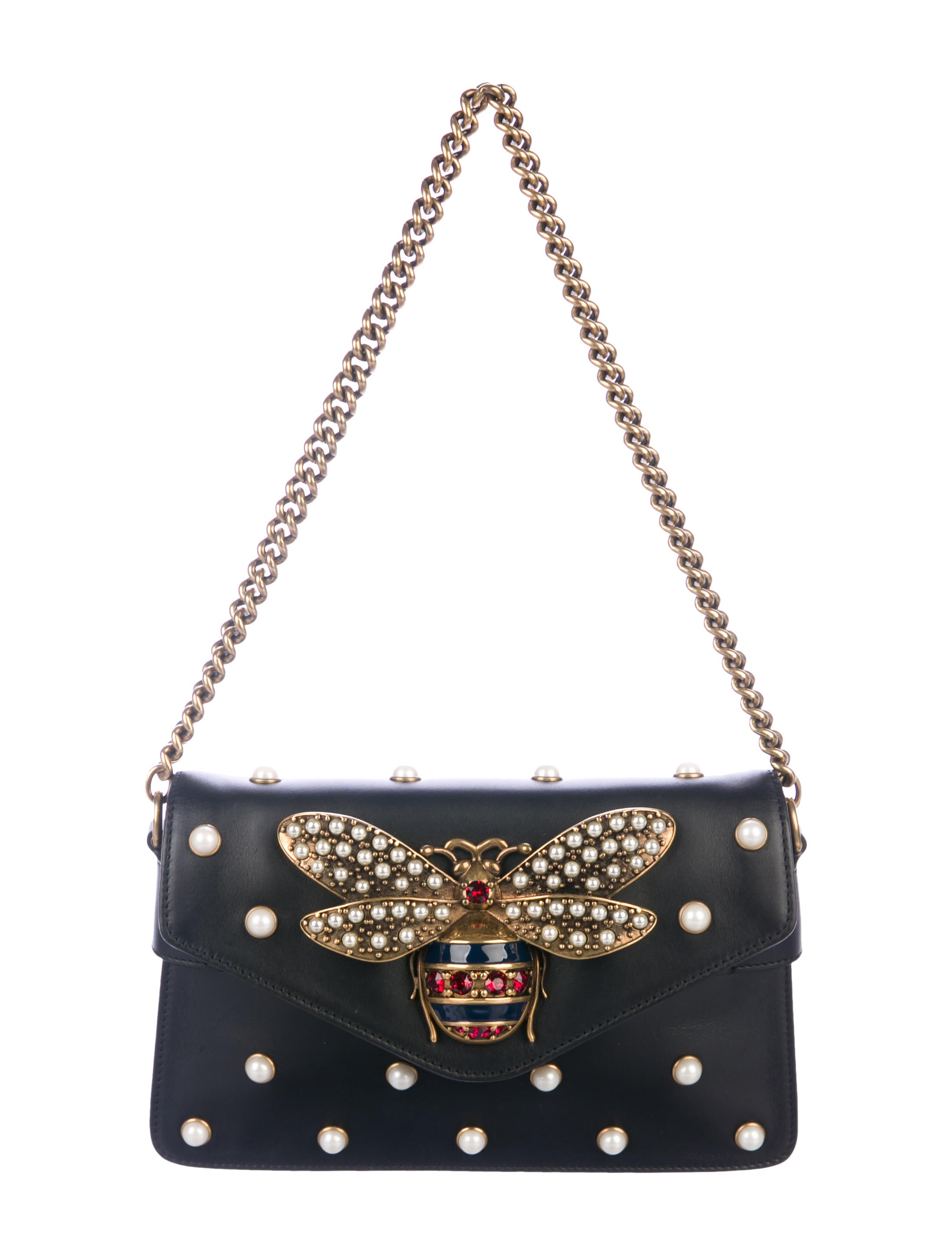 956645d089cc Gucci 2017 Broadway Leather Mini Bag - Handbags - GUC296024 | The ...