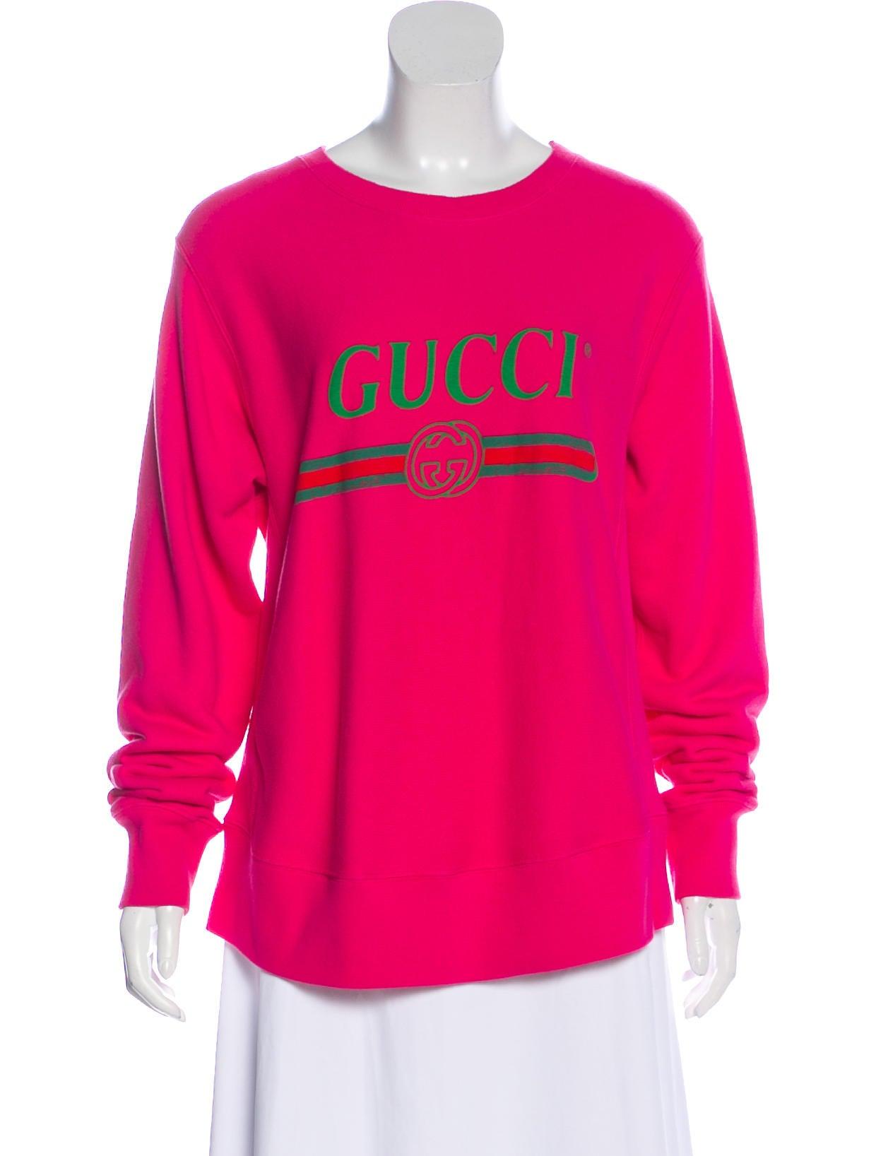 e7892a9bbcb Gucci 2017 Logo Print Sweatshirt - Clothing - GUC296067