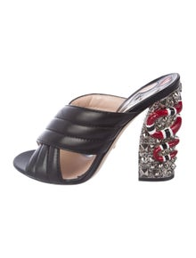 54a03374555 Gucci. Webby Leather Sandals