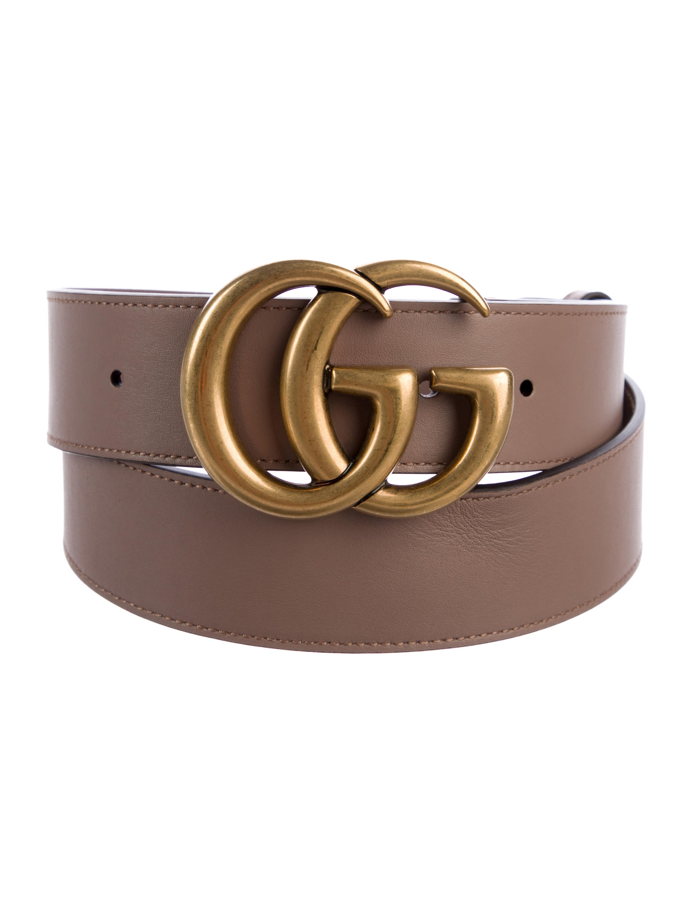 0370081b5fe Gucci GG Marmont Leather Belt - Accessories - GUC297885