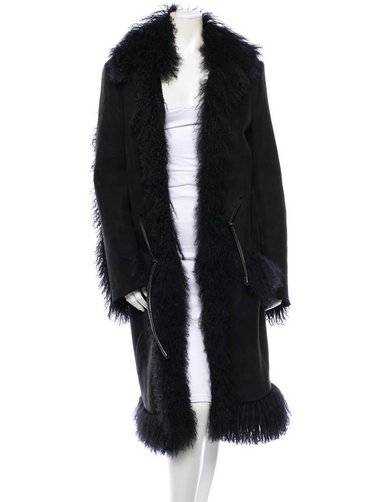 Gucci Shearling Coat - Clothing - GUC29801   The RealReal