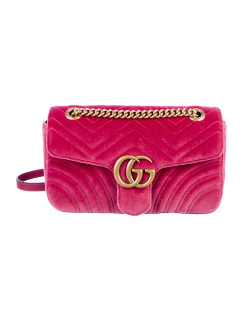 e9fec62d820a Gucci GG Small Matelassé Marmont Bag - Handbags - GUC298359 | The ...