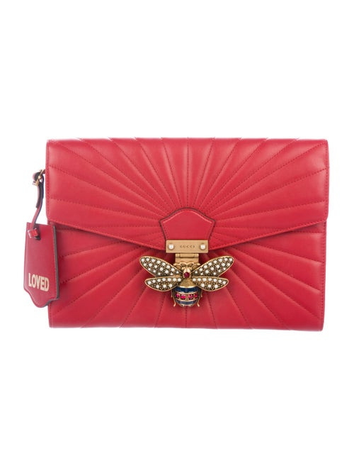 98056caca63 Gucci 2017 Queen Margaret Quilted Clutch - Handbags - GUC299458 ...