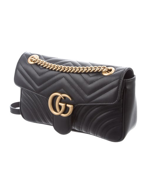 323212ed394a0b Gucci Small GG Marmont Matelassé Bag - Handbags - GUC300615 | The ...