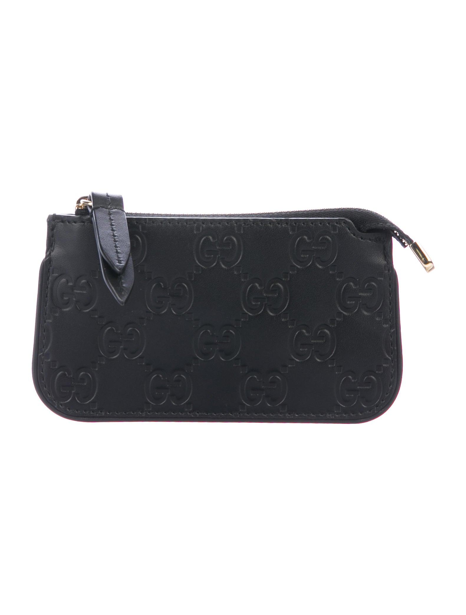 1b9c5f01442 Gucci Guccissima Key Pouch - Accessories - GUC300786