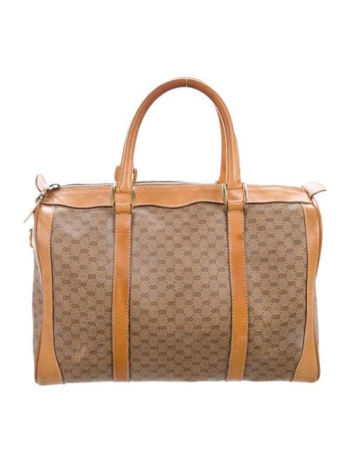 24b71777b5a Gucci Vintage Micro GG Boston Bag w  Strap - Handbags - GUC301515 ...