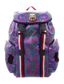 09595ac1912 Gucci. 2017 Brocade Backpack