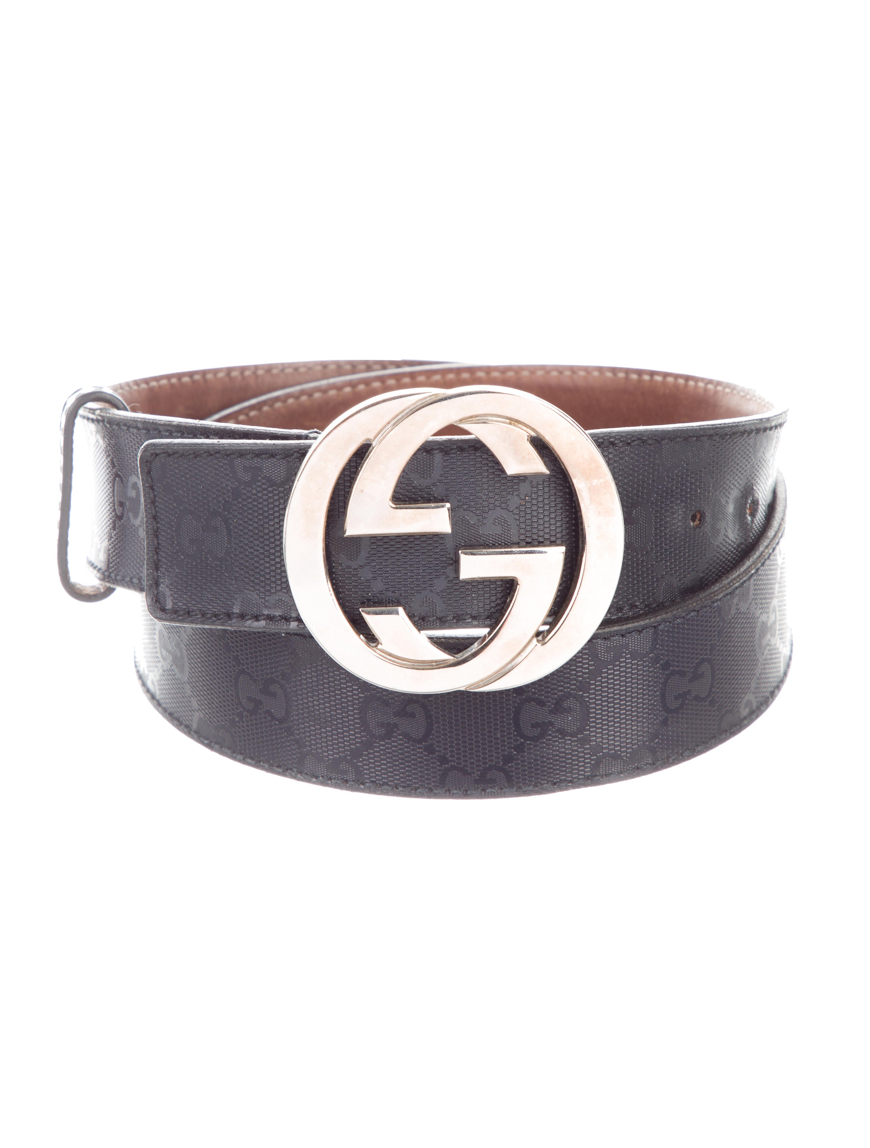 96e594dc08b Gucci GG Imprimé Interlocking GG Belt - Accessories - GUC302941 ...