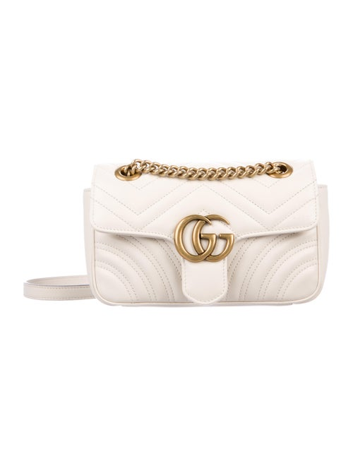 40164fef5fb Gucci GG Marmont Matelasse Small Shoulder Bag - Handbags - GUC303088 ...