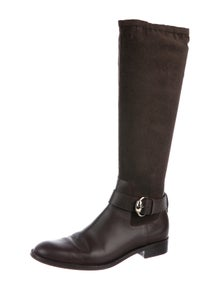 6e7bd84cfa8 Suede Knee-High Boots. Size  US 9