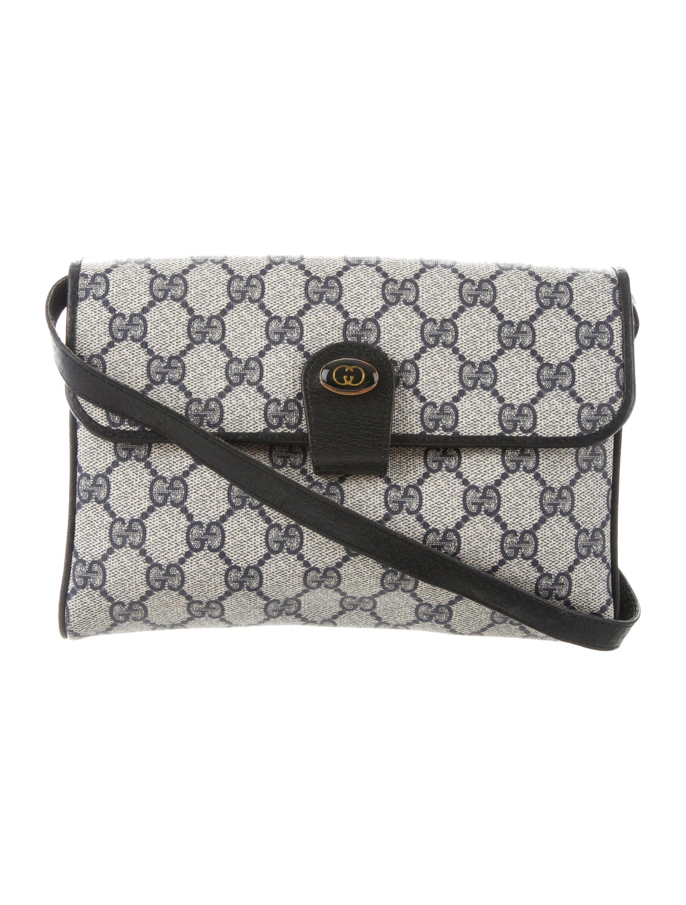 3419fa372760 Gucci Vintage GG Crossbody Bag - Handbags - GUC303244 | The RealReal
