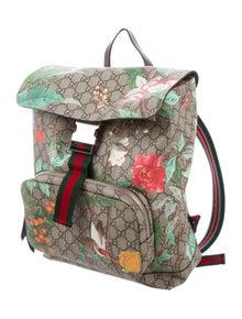 0bfd6e6e0554 Gucci. GG Supreme Tian Backpack