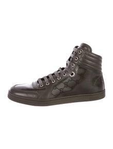 3fa053392b7 Gucci. GG Leather Sneakers