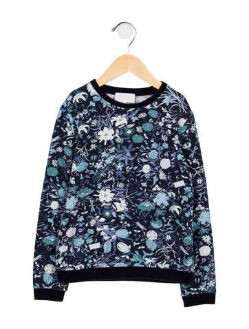 d68874a7c1e Gucci Girls  Long Sleeve Flora ...