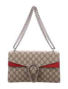 8f8901cf1dd Medium GG Supreme Dionysus Shoulder Bag.  1