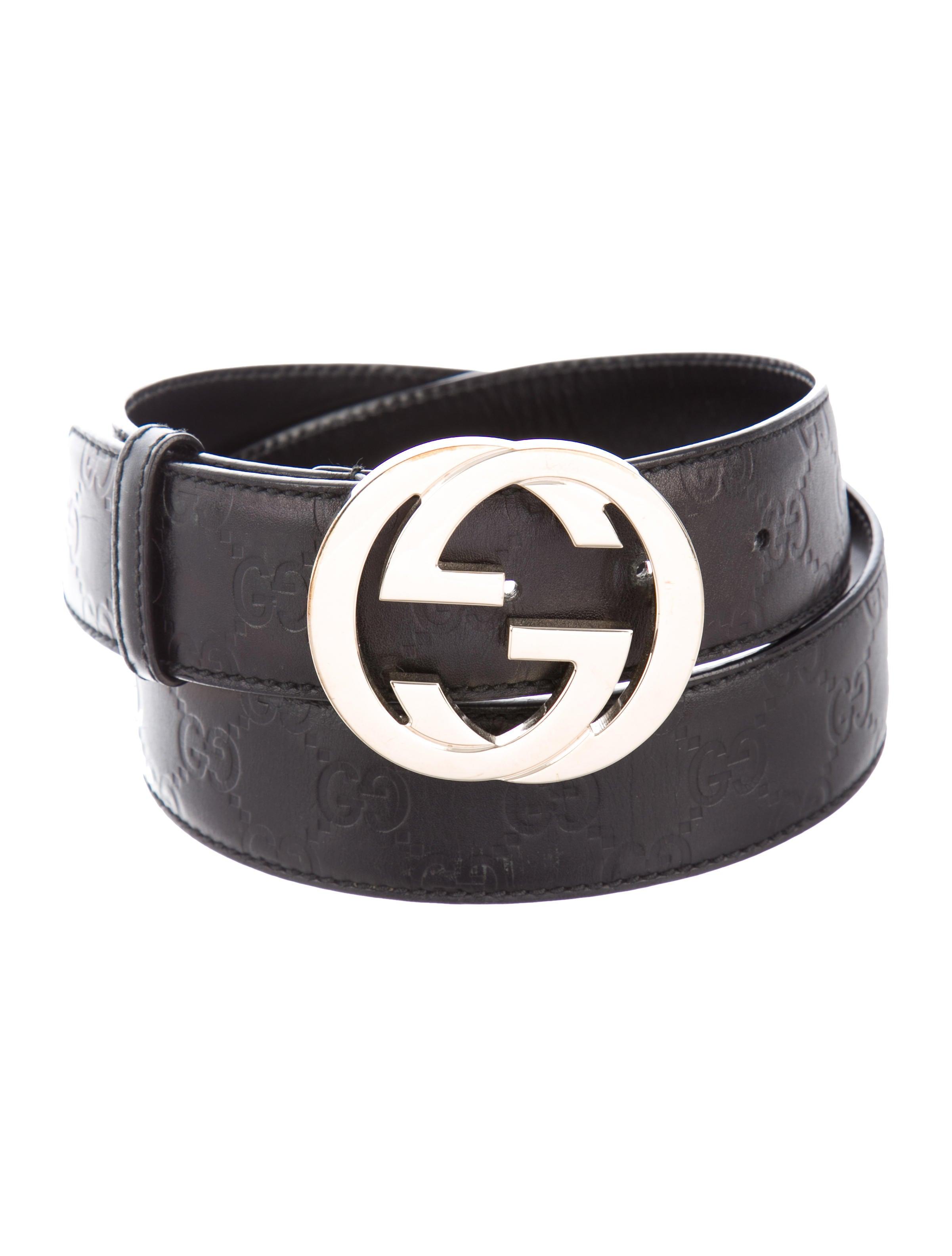 ef136e24721 Gucci Leather GG waist Belt - Accessories - GUC304333