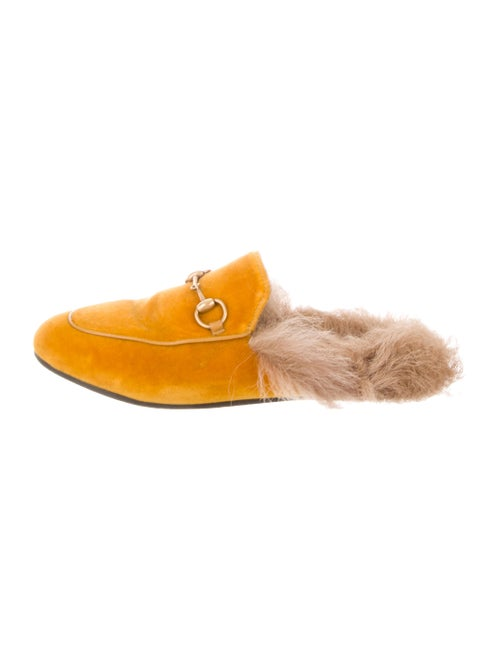 33457518b135 Gucci Fur-Lined Princetown Mules - Shoes - GUC304337