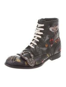 d16694bd199 Gucci. 2017 Queercore Ankle Boots