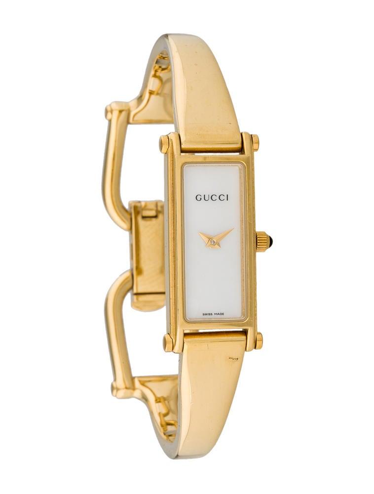 8d0a037b3fe Gucci 1500L Horsebit Watch - GUC30620