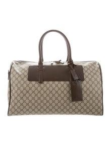 ba787bdd4f10 Gucci. GG Supreme Duffle Bag