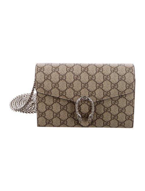 b06f04ba72ad Gucci GG Supreme Dionysus Wallet On Chain - Handbags - GUC307007 ...