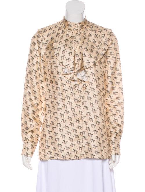 a41e6a63b32f Gucci 2018 Silk Top - Clothing - GUC307055 | The RealReal