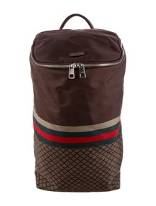 520c828ac38f Gucci. Nylon Diamante Backpack
