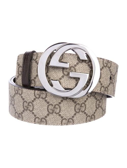 2b53e1129 Gucci GG Leather Belt - Accessories - GUC308437   The RealReal