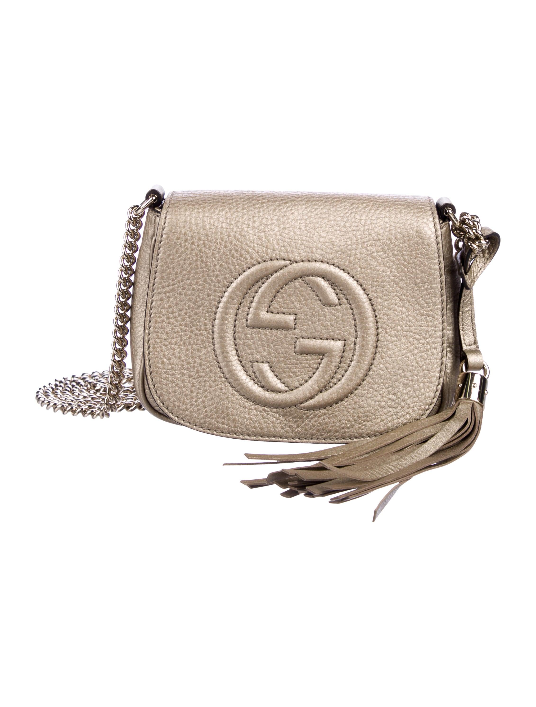 b49d3ea5093f Gucci Soho Chain Crossbody Bag - Handbags - GUC309055 | The RealReal