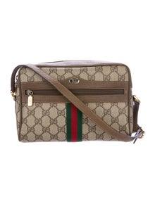 3648f4032dd5 Vintage Leather Crossbody Bag. $475.00 · Gucci