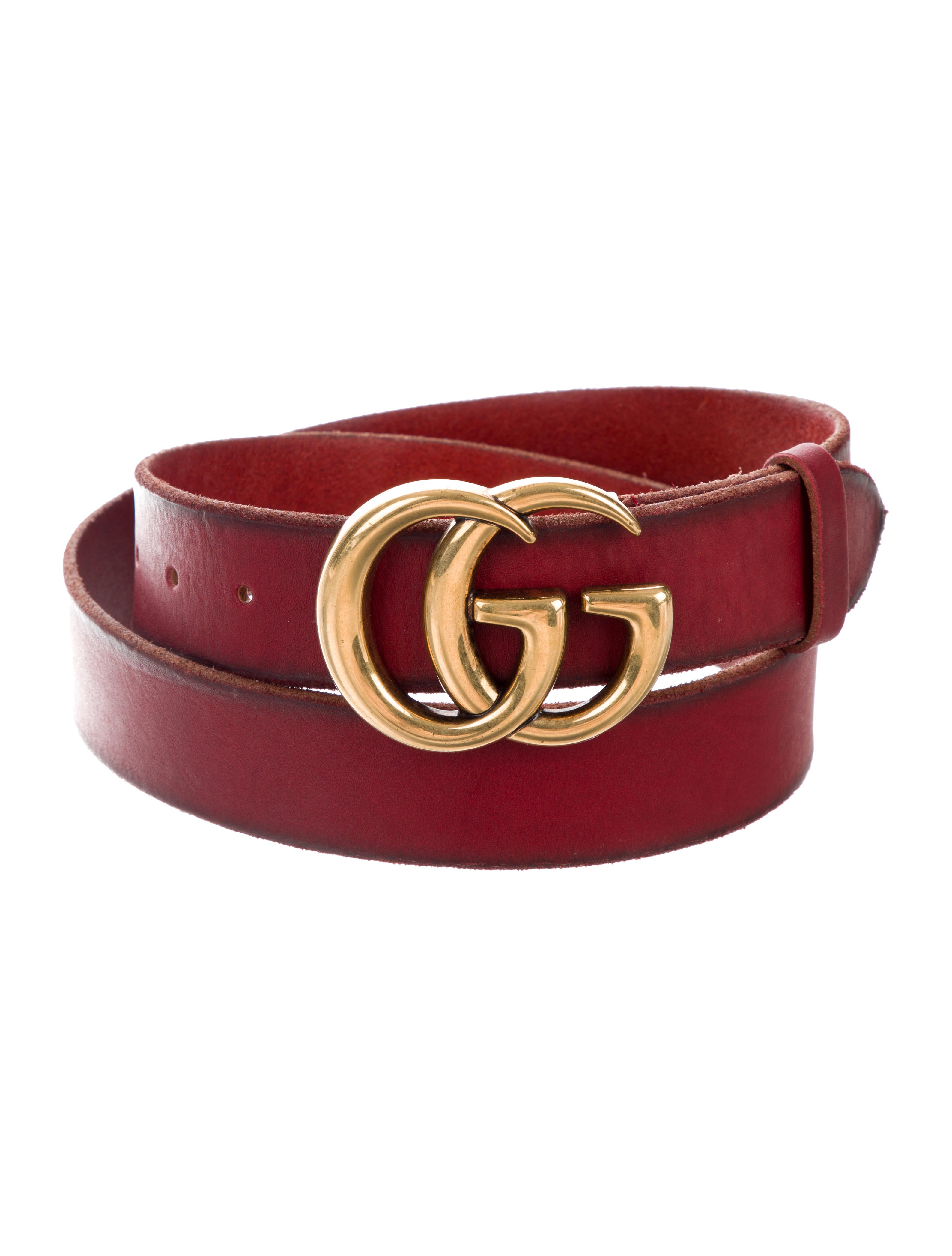 565243efc Gucci GG Leather Belt - Accessories - GUC311197 | The RealReal