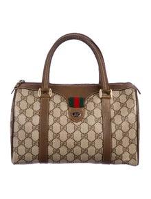 ea1c2d3ec4f7 Vintage Bamboo Top Handle Bag. $495.00 · Gucci