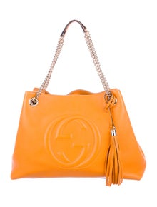 64489abe7440 Gucci Soho Chain Shoulder Bag | The RealReal