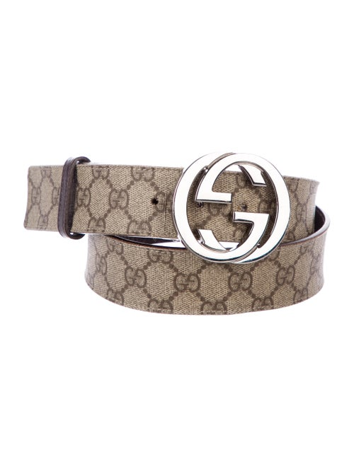 ee22ca174 Gucci GG Print Belt - Accessories - GUC315292 | The RealReal