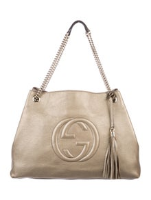 acad3435c4 Gucci Soho Chain Shoulder Bag | The RealReal