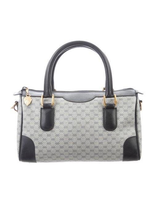 516884802a985f Gucci Vintage Micro GG Small Boston Bag - Handbags - GUC317987   The ...