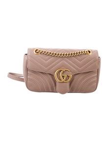75077f5bc Gucci. GG Marmont Matelassé Medium Shoulder Bag