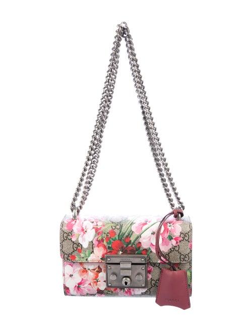 d2472f093 Gucci 2017 GG Blooms Small Padlock Shoulder Bag - Handbags ...