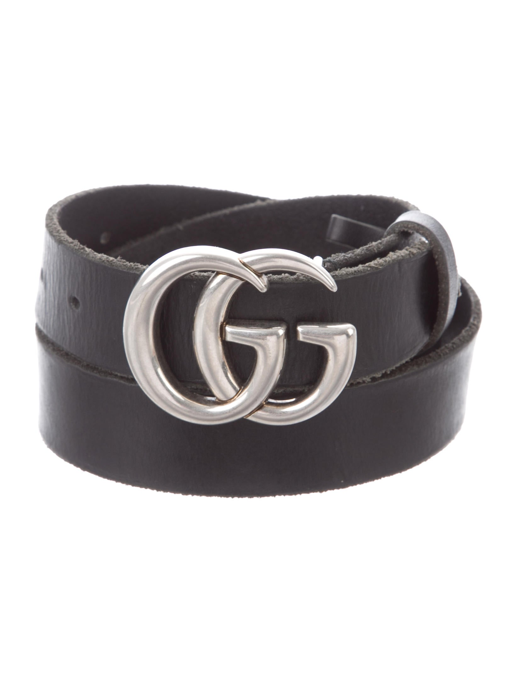 0b56d89f9 Gucci Running GG Leather Belt. - Accessories - GUC324493 | The RealReal
