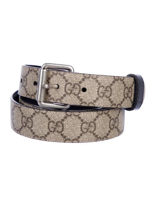 6b6d04502 Gucci GG Supreme Reversible Belt - Accessories - GUC327131   The ...