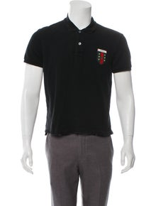 4d843ffbd Gucci. Logo Appliqué Polo Shirt. Size: XL