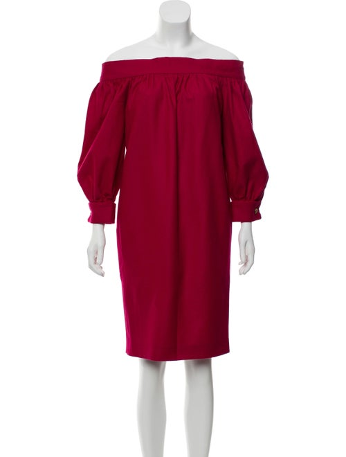 b9983c525 Gucci Off-The-Shoulder Wool Dress - Clothing - GUC330547 | The RealReal