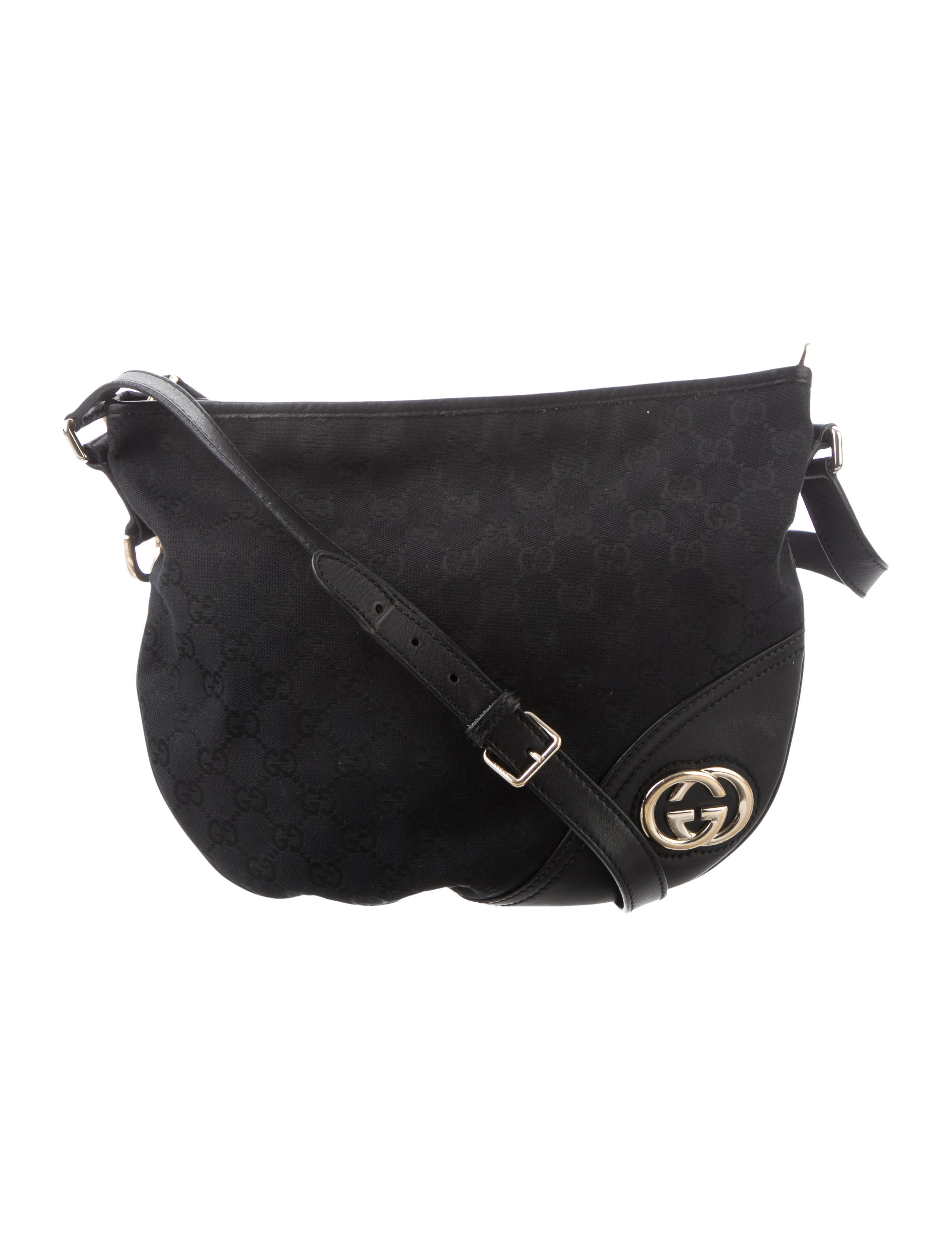 c981d6bc86d45 Gucci GG Canvas Britt Crossbody Bag - Handbags - GUC331685 | The ...