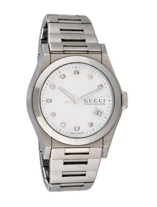 c26f0dc70d2 Gucci Pantheon Diamond Watch - GUC33279