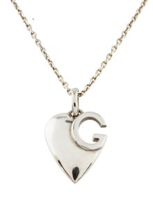 20fd31841 Gucci. Charlotte Heart Pendant Necklace